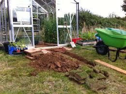 greenhouse drainage petersfield community garden