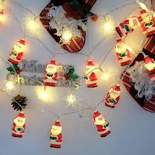 2m 20led string lights santa claus shape waterproof battery led