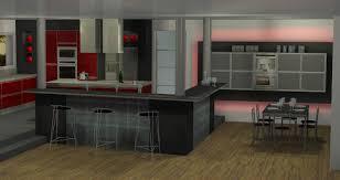 cuisine avec bar table bar table cuisine excellent tables et chaises de cuisine pas cher