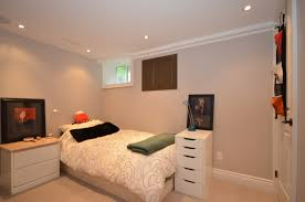 bedroom appealing incridible unfinished basement bedroom ideas
