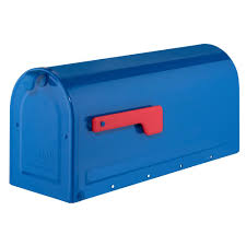 Garrison Flag Size Gibraltar Mailboxes Garrison Steel Post Mount Large Mailbox In