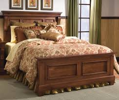 King Size Headboard And Footboard King Panel Headboard Footboard Bed By Furniture Wolf
