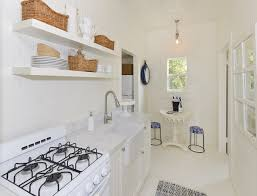 small cottage kitchen ideas small cottage with coastal white interiors home bunch interior