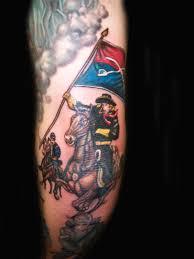 history of tattoo design history of tattoos civil war cavalry soldier tattoo design cavalry