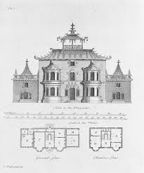 Gothic Architecture Floor Plan William Halfpenny The Chinese And Gothic Architecture Being