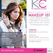 make up classes for makeupgame kc makeup by karuna chani master class social and style
