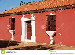 Colonial Style House by Spanish Colonial Style House Stock Photo Image 62691292