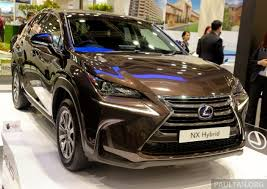 lexus nx 300h on display at igem 2014 in klcc
