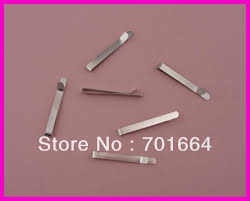 wide bobby pins 50pcs 6mm 6 8cm 2 65 silver finish arc shaped wide plain metal