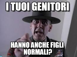Full Metal Jacket Meme - i tuoi genitori sergent hartman meme on memegen