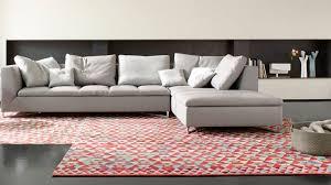 canapé d angle convertible modulable canapé d angle en tissu cuir design contemporain côté maison