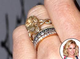 Celebrity Wedding Rings by Rebecca Romijn From Truly Unique Celebrity Engagement Rings E News