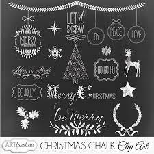 chalk clipart illustrations creative market