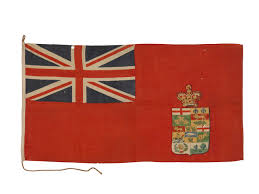 Canadian Provincial Flags Canadian Red Ensign 1873 1896 National Maritime Museum