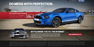 2015 mustang customizer ford to launch customizer for the 2012 mustang