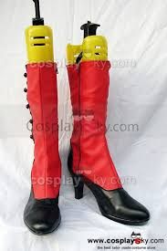 red motorcycle shoes black butler madam red angelina dulles cosplay boots shoes