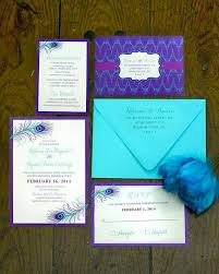 purple wedding invitation kits turquoise and purple wedding invitations kac40 info