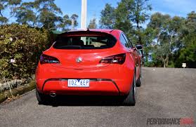 2015 holden astra gtc sport review video performancedrive