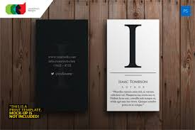 Designing Business Cards In Illustrator 12 Business Cards For Authors U2013 Free Psd Eps Illustrator Format