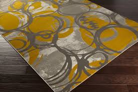 orange and grey area rug zipcode design clifford gold gray area rug u0026 reviews wayfair