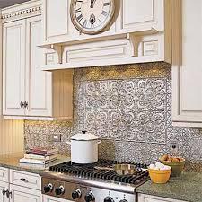 faux tin kitchen backsplash faux tin backsplash the benefits of a tin backsplash elliott spour