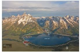 Grand Teton Map Jenny Lake Campaign Grand Teton National Park Foundation