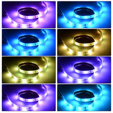 4pcs usb mood light rgb multi color led strip light tv backlight