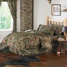 Camo Bedroom Decor by Mossy Oak 100 Cotton King Comforter Set 1 Sham And Bedskirt