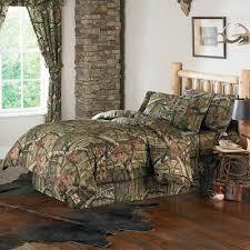 mossy oak 100 cotton king comforter set 1 sham and bedskirt