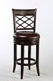 24 Bar Stool With Back Furniture Black Leather Counter Stools Swivel With Back For