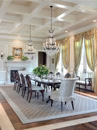 dining room area rugs dining room traditional with wood floor