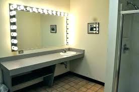 full length mirror with light bulbs full mirror with lights full size of mirrors design bathroom light
