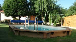 petite piscine enterree piscine bois azurea piscine