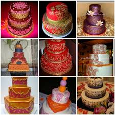 Indian Themed Wedding Cakes Here Comes The Blog
