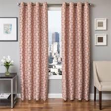 Contemporary Orange Curtains Designs Design Ideas Copper Curtains Catchy Contemporary Orange