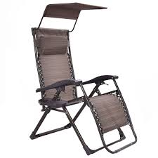 Zero Gravity Lounge Chair With Sunshade Patio Recliner Foldable Zero Gravity Lounge Chair Outdoor Chairs