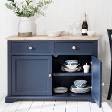 florence navy blue sideboard bedroom furniture direct