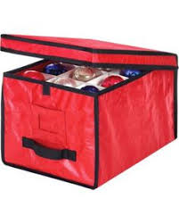 Christmas Ornament Storage Boxes Target by Honey Can Do Adjustable Ornament Storage Box Red Ornament