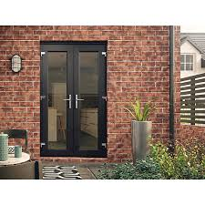 Black Upvc Patio Doors French Doors Exterior Image Of External French Doors And Frame