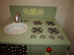 homemade play kitchen ideas we love being moms homemade kids play kitchen