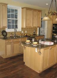 Granite Countertops With Natural Maple Cabinets Google Search - Natural maple kitchen cabinets