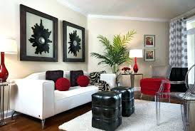 black and white furniture living room white and red living room furniture black white wall and white red
