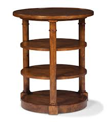 carolina chair table company round end table in oak fairfield chair company home gallery