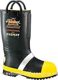 s rubber boots canada 807 6001 thorogood s hellfire rubber boots black