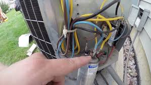 carrier air conditioning unit repair capacitor replacement youtube