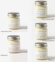 mason jar scented soy candle home decor u0026 lighting brooklyn