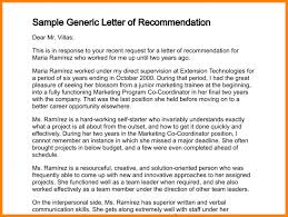 7 generic letter of recommendation sample of invoice