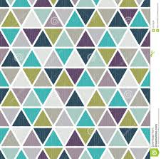 seamless retro geometric triangle tiles wallpaper stock vector