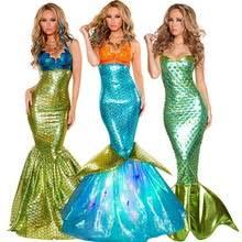 Womens Mermaid Halloween Costume Popular Mermaid Costume Buy Cheap Mermaid Costume Lots China