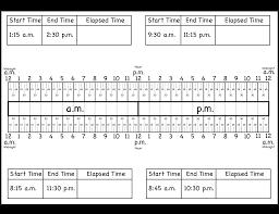 Placing Decimals On A Number Line Worksheet Calculate Elapsed Time U2013 5 Worksheets U2013 15 30 45 60 Minutes